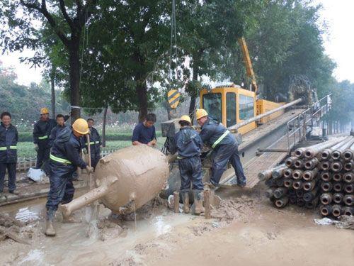 北京市环六环石油管道定向钻工程