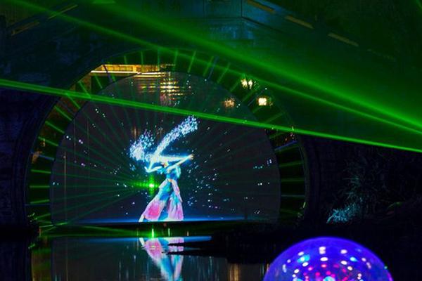 2017绍兴首届光影节携手挪威3DP打造奇幻镜湖,传播文化绍兴