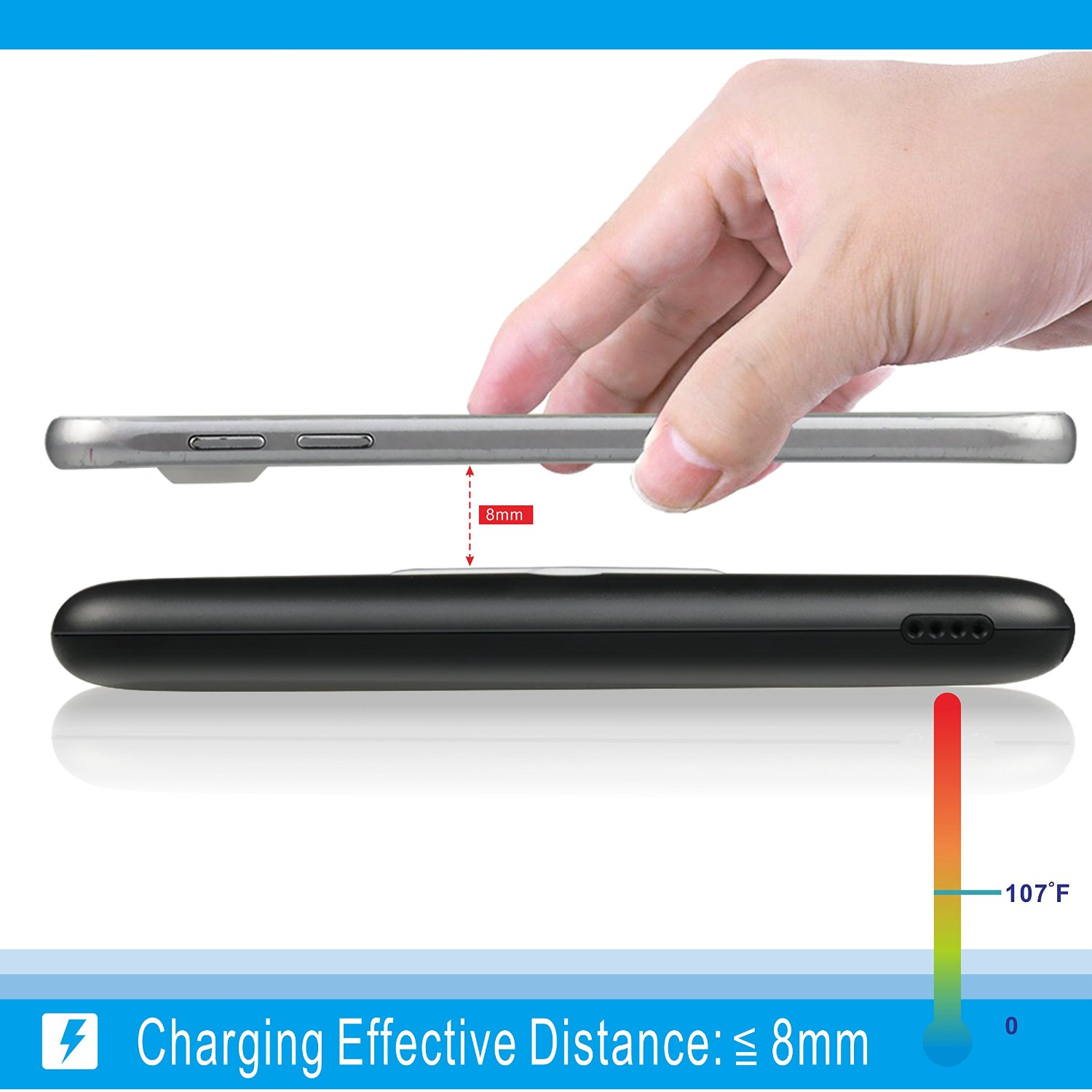 Picture of WP 200 Fast charging wireless power bank 10000Mah