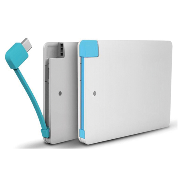 Picture of UG-008 Genuine Card Style Slim Portable Travel Power Bank For Smartphones