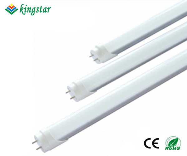 0.6m 9W T8 led tube with fixed G13 base with Isolated driver.
