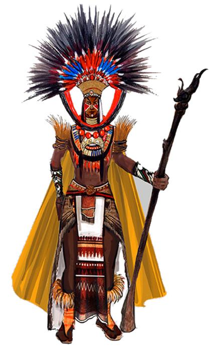 印第安酋长服装