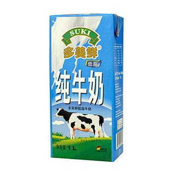多美鲜低脂牛奶 1L