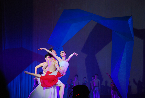 中国原创舞蹈诗《水之魂》