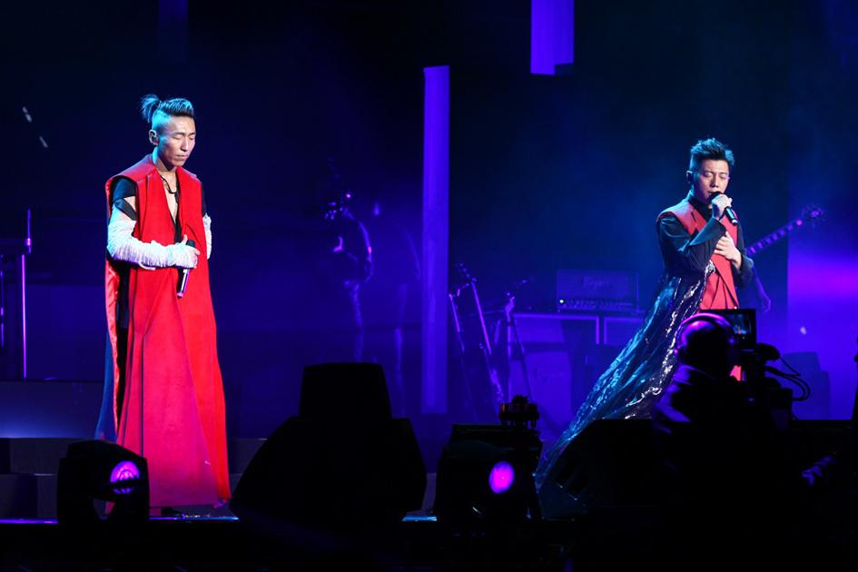 后台——羽泉2015北京演唱会