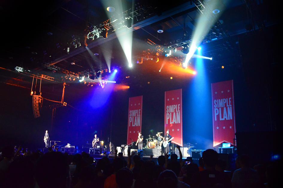 SIMPLE PLAN2016北京演唱会