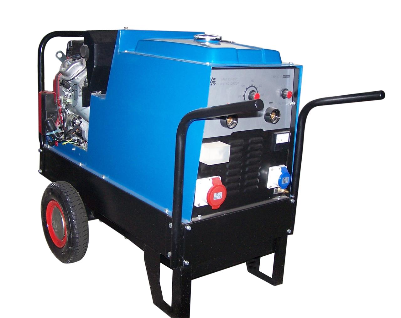 汽油发电电焊机MG7/300