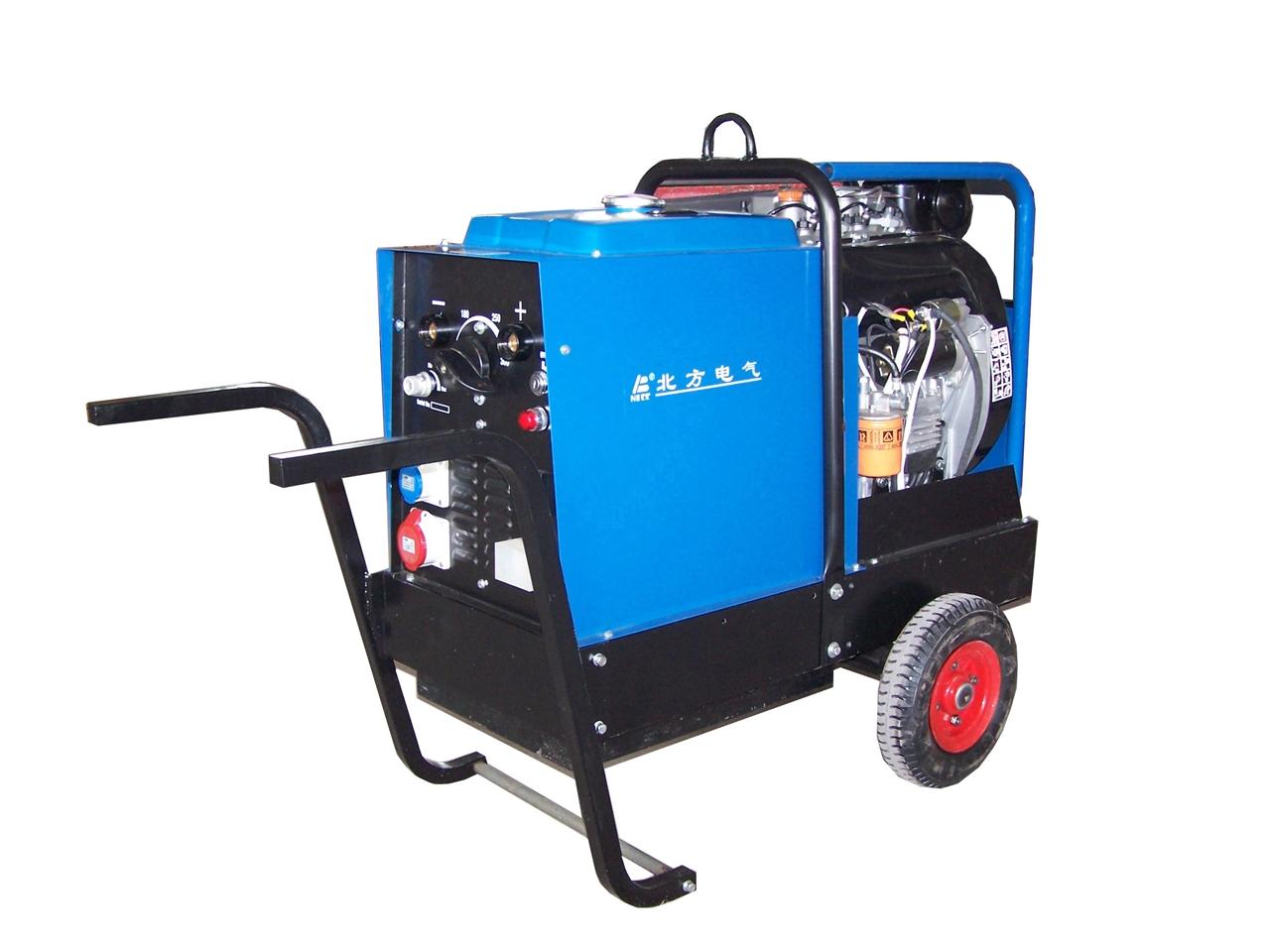 柴油发电电焊机MG7/300D