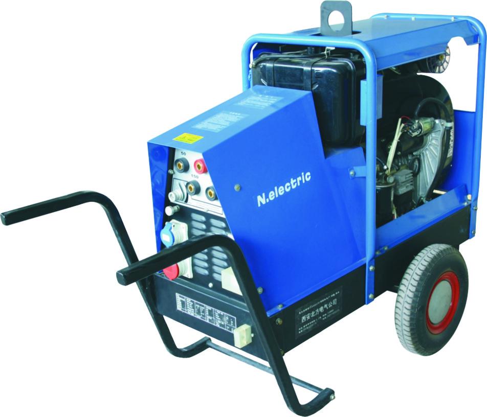 柴油发电电焊机MG8/350D