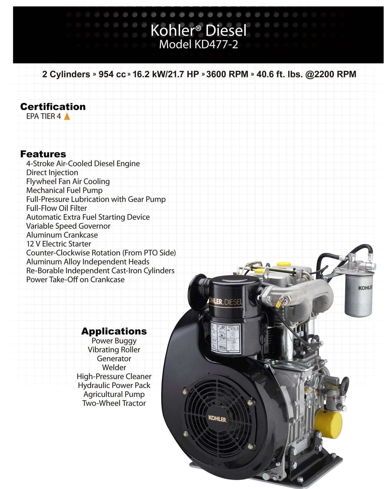 发动机KD477-2