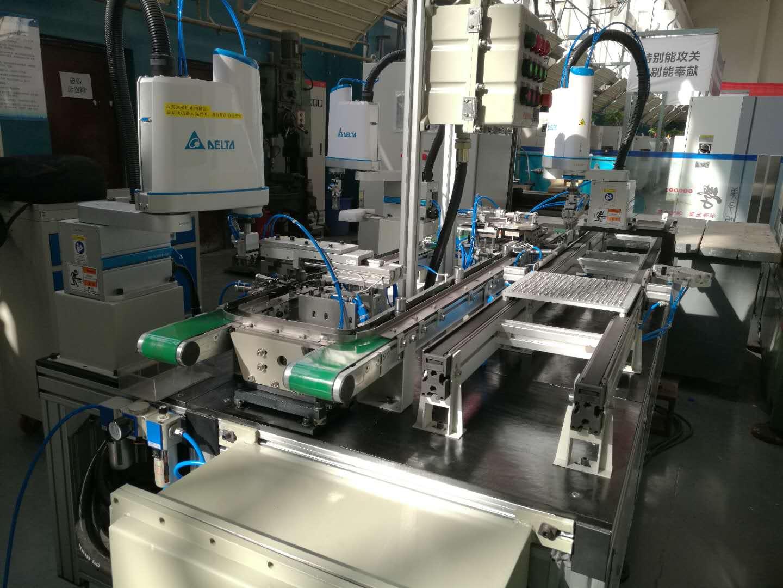 全自动机器人汽车零件装配生产线