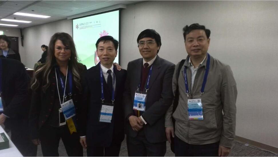 王建华、刘后仓院长受邀参加2016年APAO年会