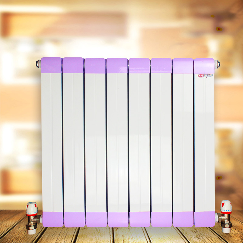 新铜铝复合-D型散热器