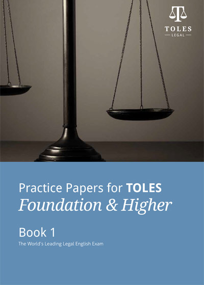 【TOLES官方教材】初级&中级真题册1《Practice Papers for TOLES Foundation & Higher- Book One》