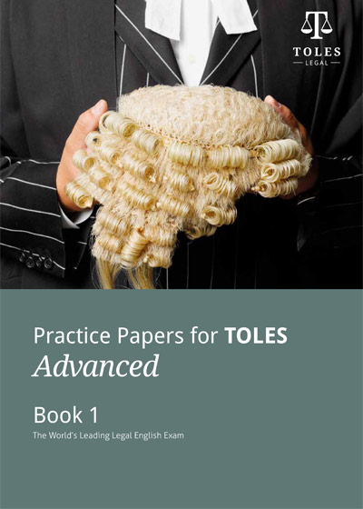 【TOLES官方教材】高级真题册1《Practice Papers for TOLES Advanced- Book One》