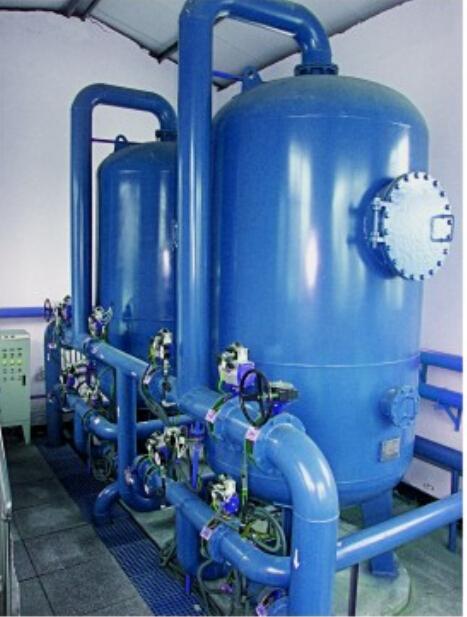 北元化工2000 m3/d含煤废水处理工程