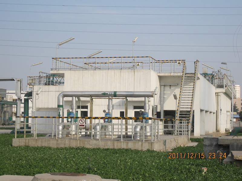 陕西渭化集团30000 m3/d工业给水处理工程