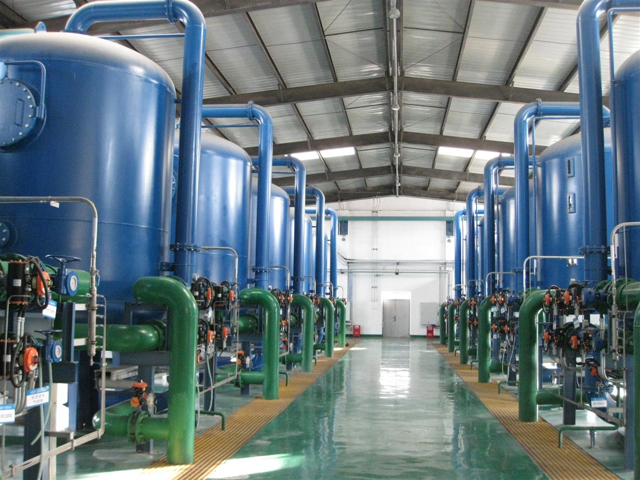 中煤陕西榆林能源化工40320 m3/d脱盐水预处理工程