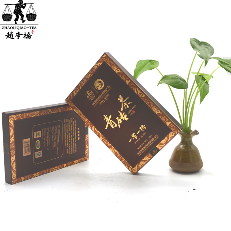 250g一带一路巧克力青砖茶