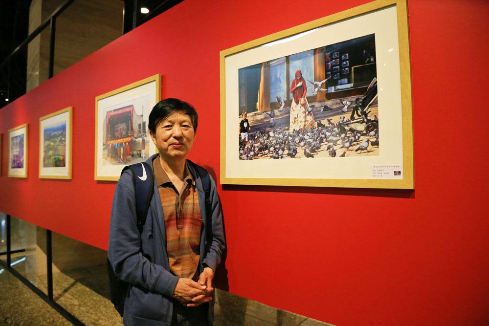 邓尚喜主席作品《祈祷和平》作为评委特邀入展第五届世界华侨华人摄影展