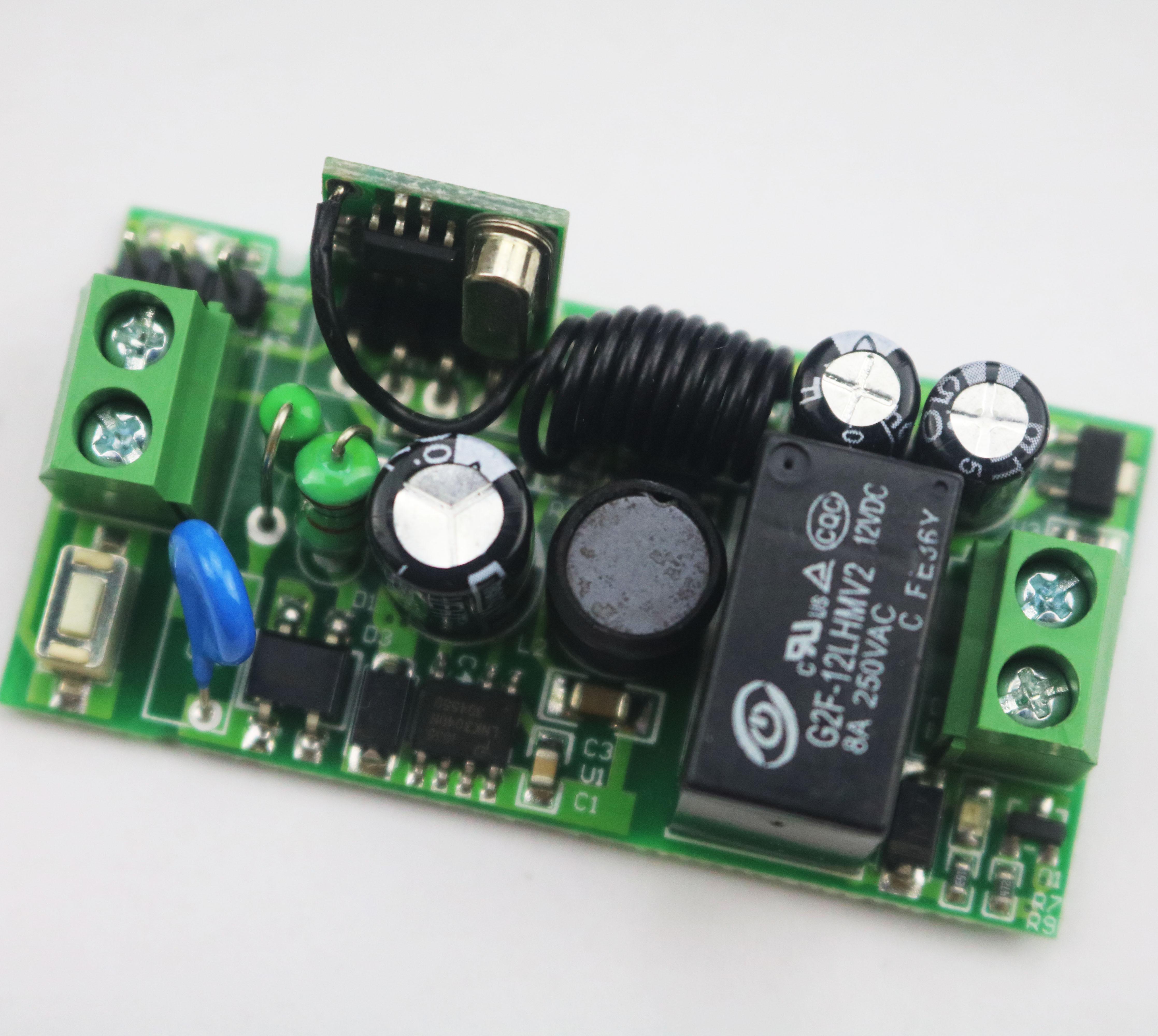 宽电压交/直流单路遥控开关 AK-GK05A