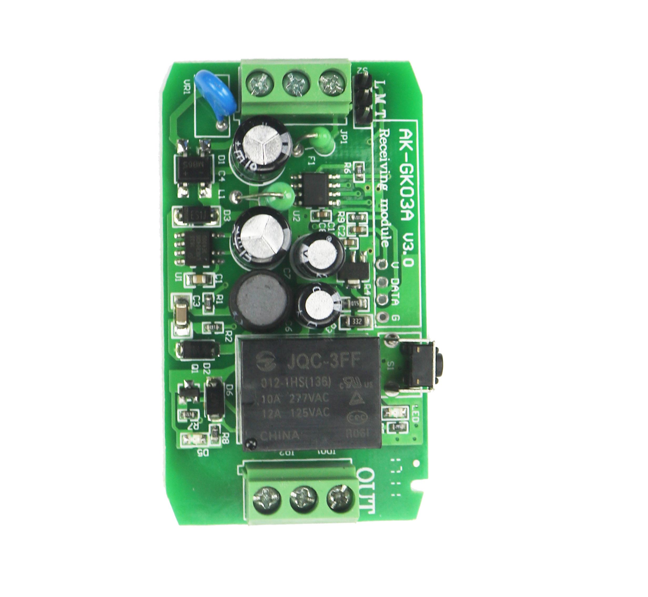 宽电压交/直流单路遥控开关 AK-GK03A