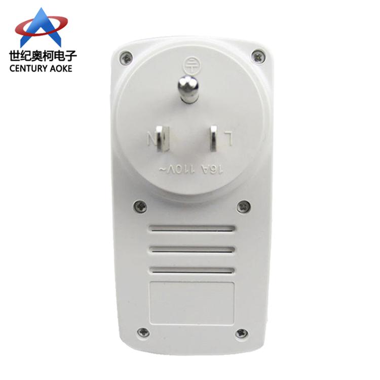 智能WIFI无线遥控插座带手动按键遥控插座手机远程wifi控制器