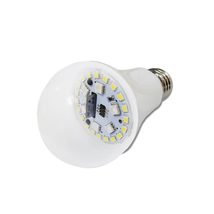 wifi灯泡Alexa语音控制调色温智能彩色球泡灯Q9WT
