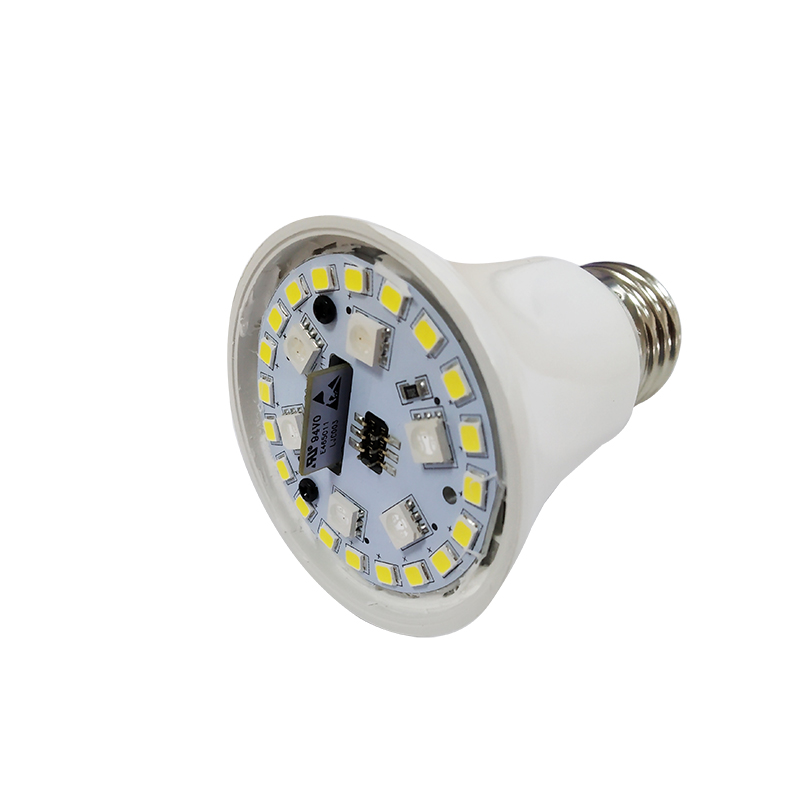 WiFi远程控制智能调光led螺口球泡灯RGB无极调光节能灯Q9