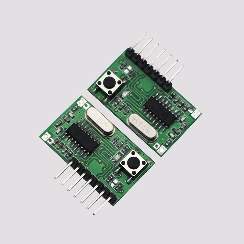 四路学习型超外差带解码接收模块AK-06C