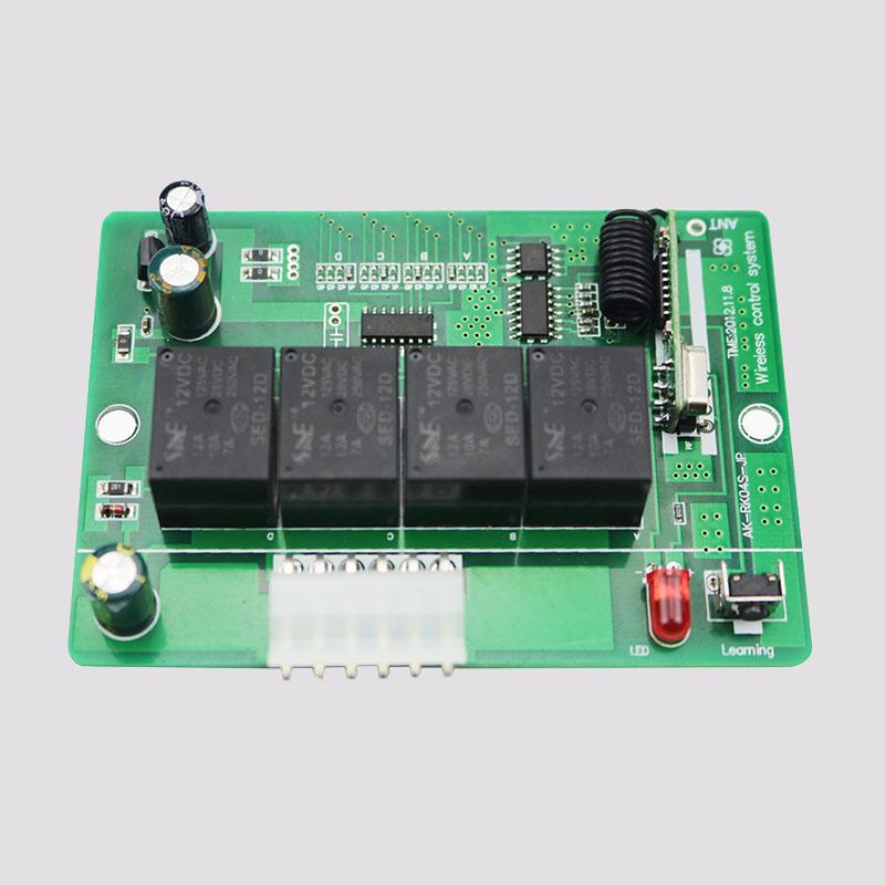 新款12伏四路控制器 AK-RK04S-JP