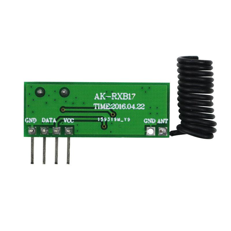 868/915M无线接收模块AK-RXB17