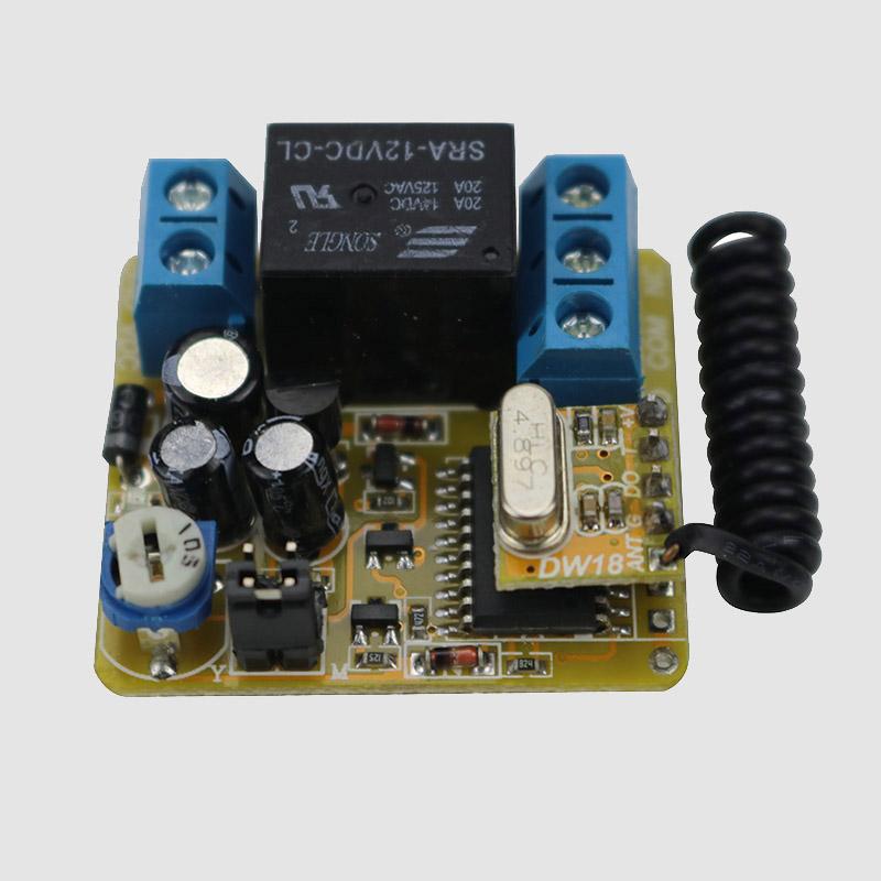 带延时功能12伏单路学习型遥控开关