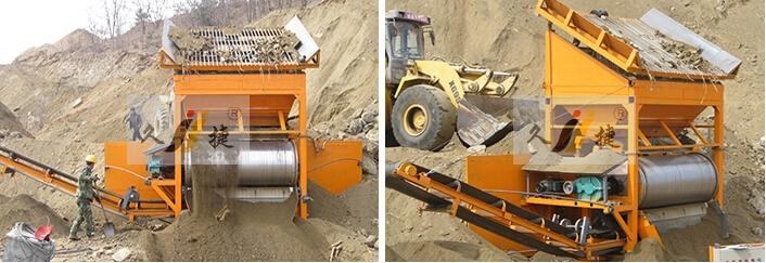 Ycbg Series Mobile Dry Magnetic Separator Jiujie Machinery