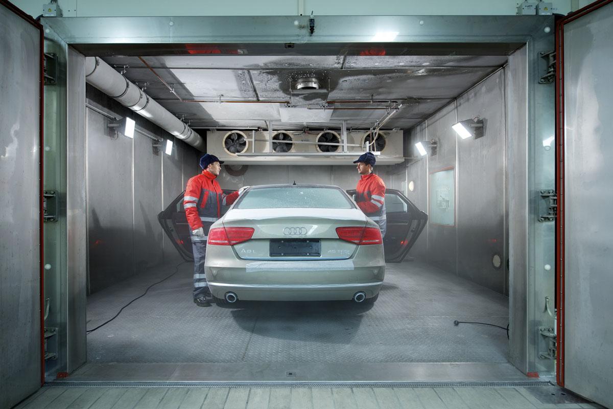 汽车整车环境试验舱