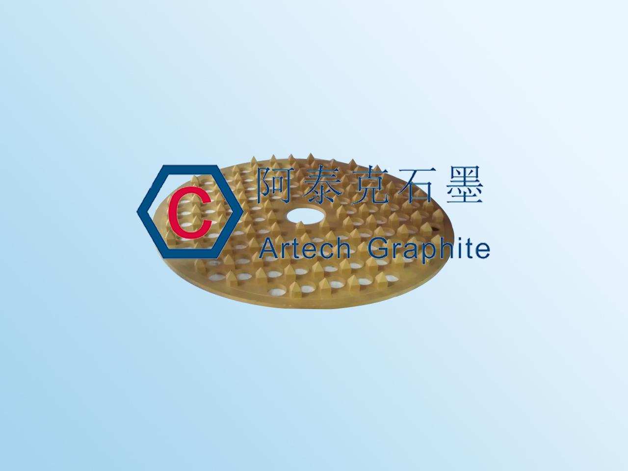 CVD炉用石墨宝塔型烧结舟皿