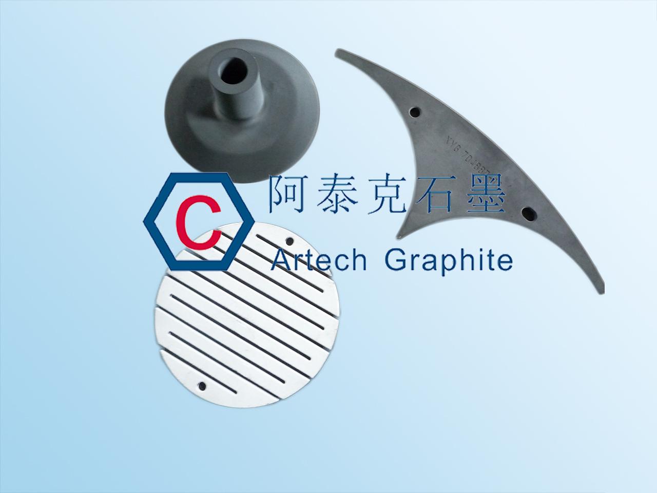 提高石墨性能用碳化硅及三氧化二铝涂层