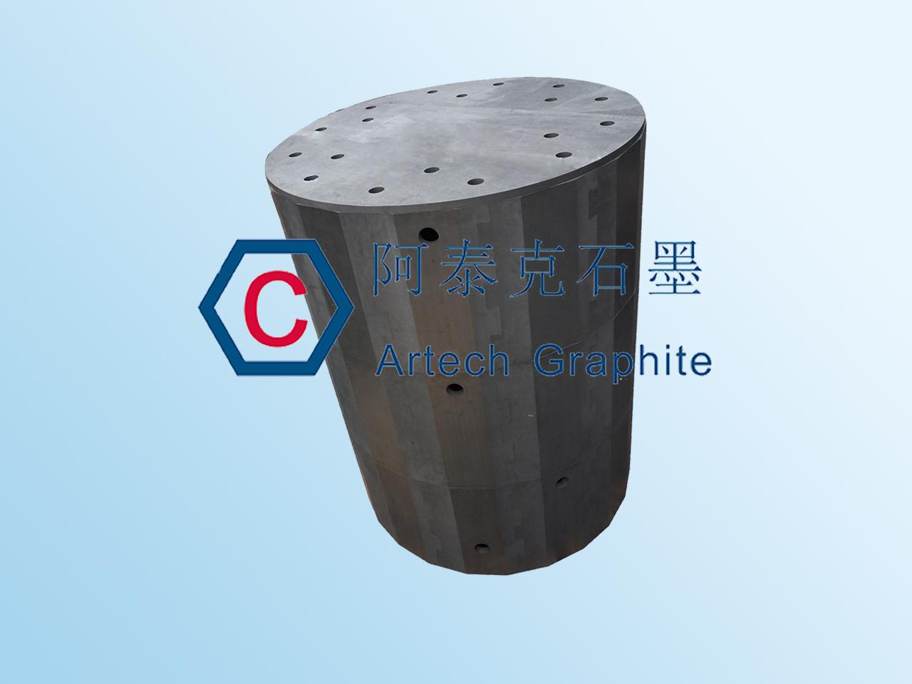 生产多晶硅用石墨隔热屏