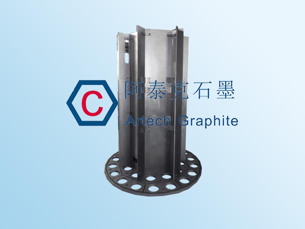 生产多晶硅的氢化炉用石墨热场