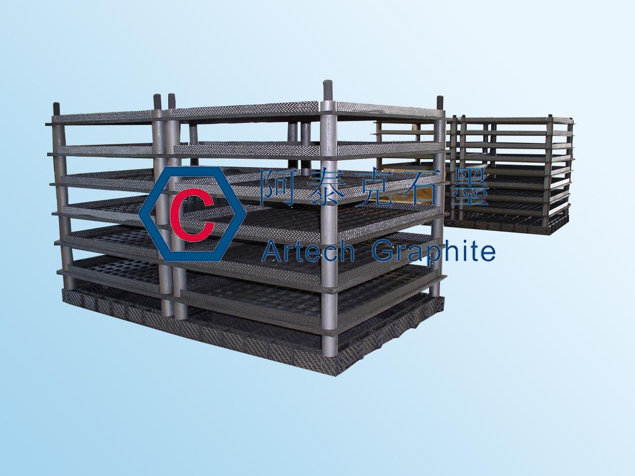 热处理用碳碳复合材料装料架
