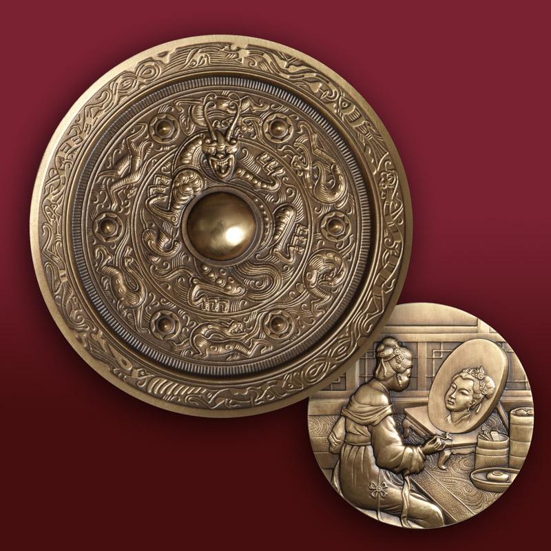 中国铜镜大铜章