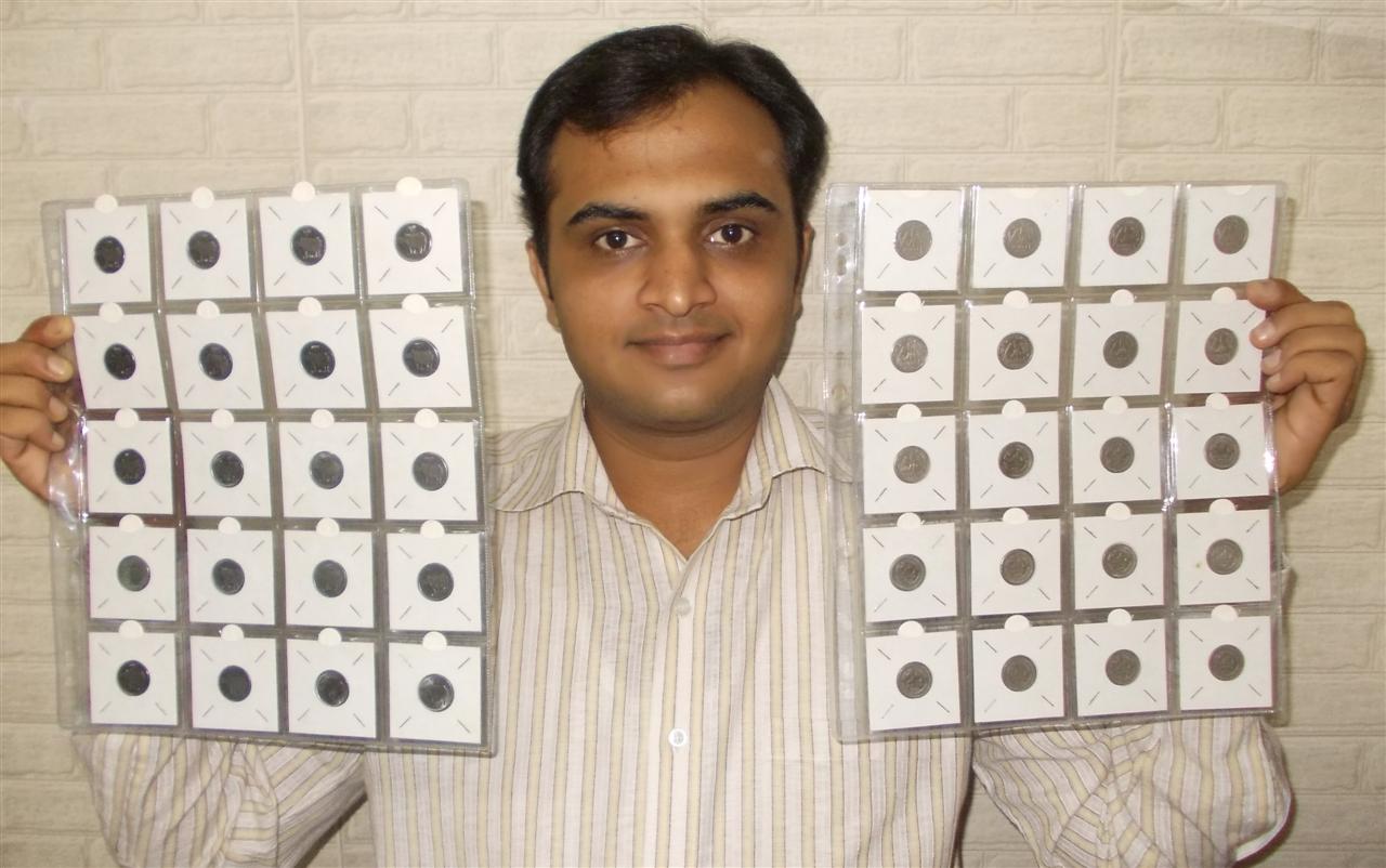 印度:世界上收藏paise25硬币数量最多的人—— Mr. Rahul G. Keshwani