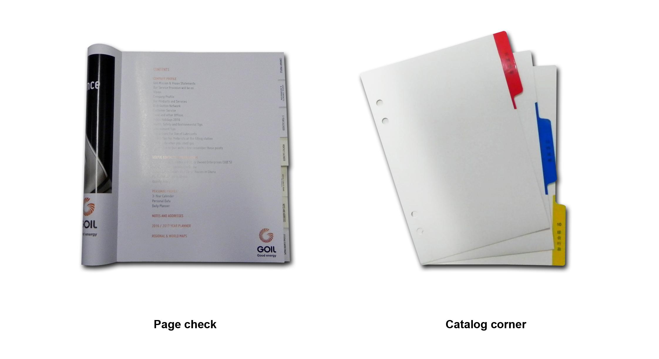 分页签和目录切角
