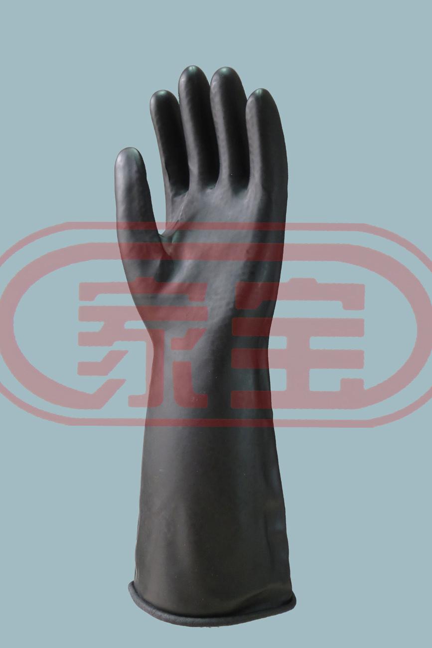 35cm加強型耐酸耐堿手套