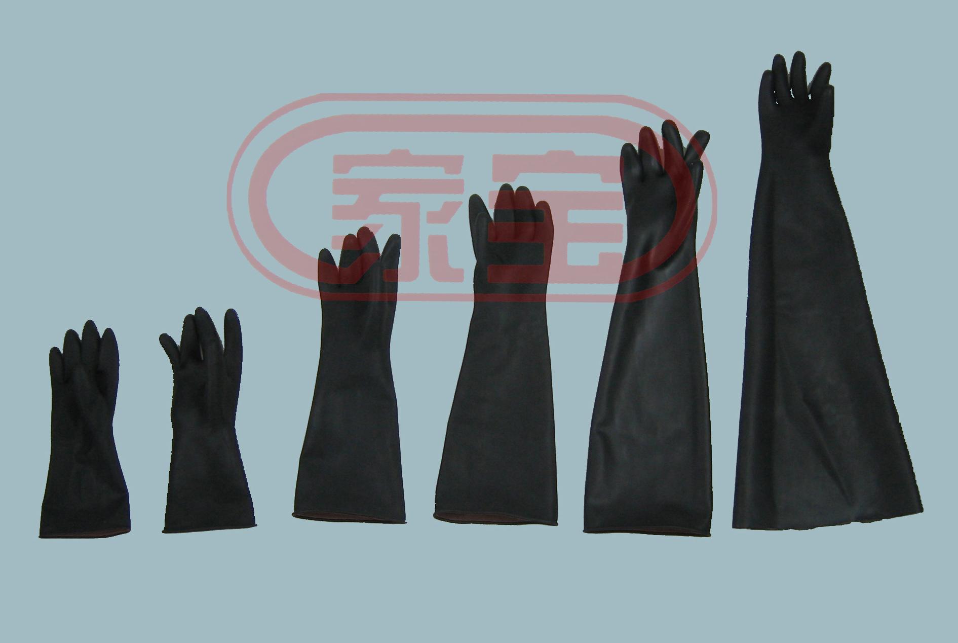 55cm加強型耐酸堿手套