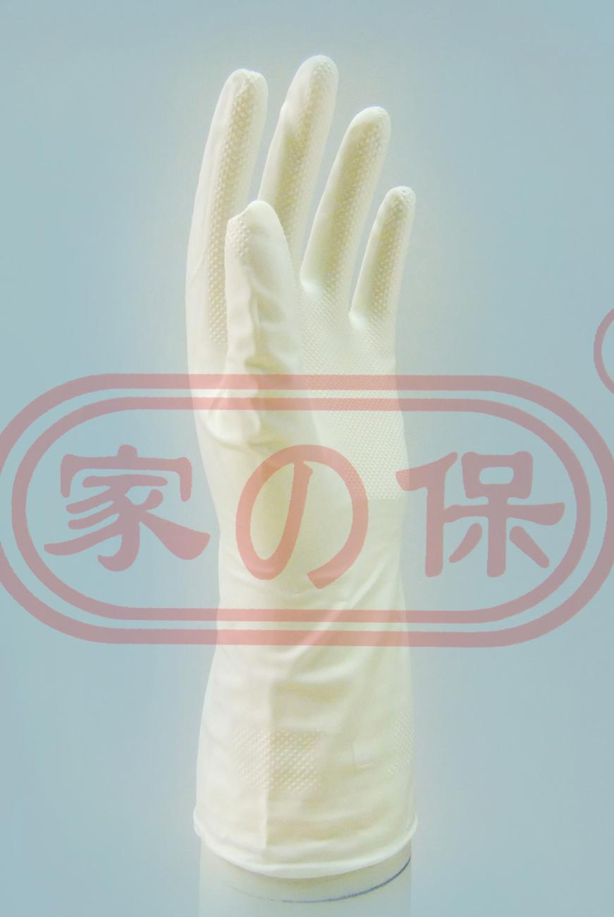 白色丁腈薄耐油手套