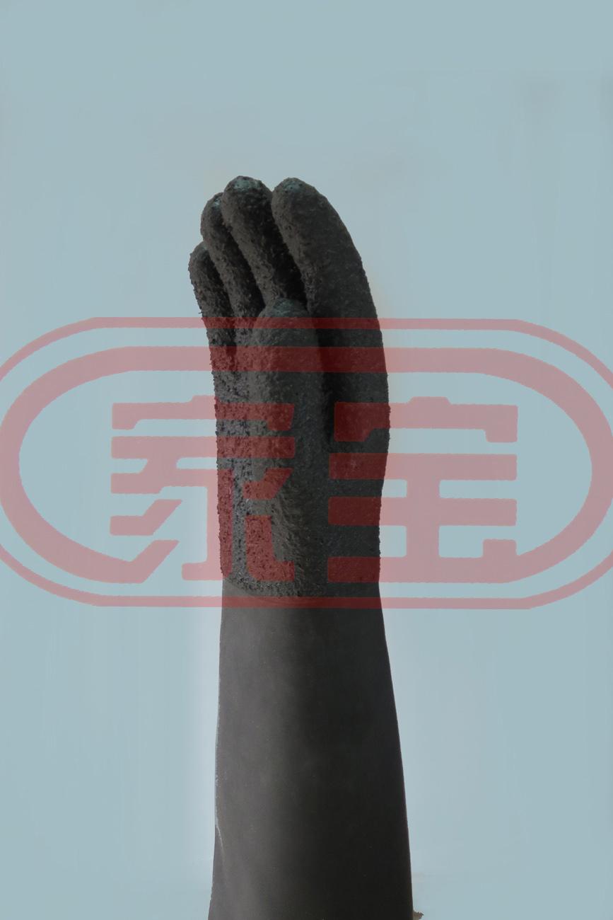 65cm防滑加強型耐酸堿手套