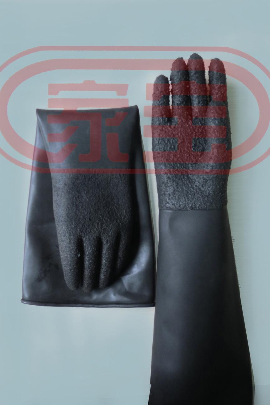 45cm防滑加強型耐酸堿手套