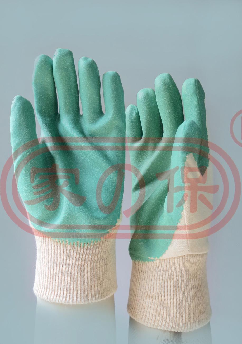 棉紗浸丁腈手套