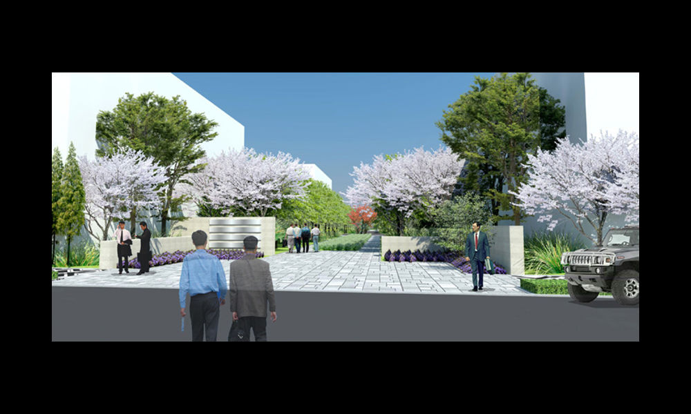 西部服饰科技创意产业园-重庆奥义园林景观规划设计